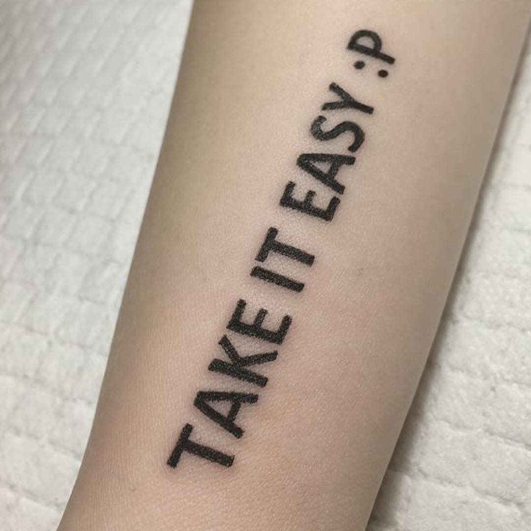 做机械加工的宗纹身广告英文字先生图案小臂设计制作的编码商品图片