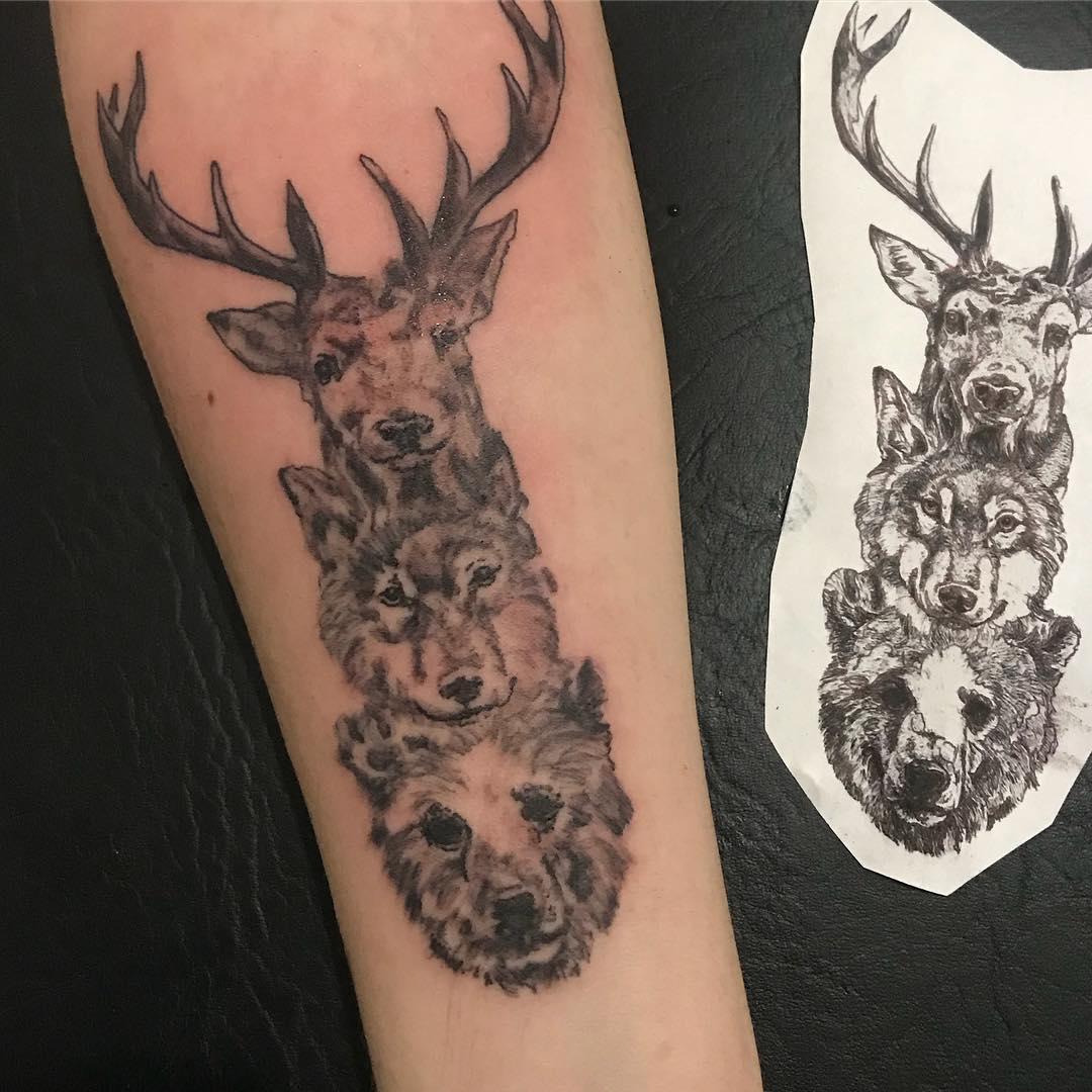 做农产品的山先生小臂英文字纹身图案